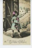 ENFANTS - LITTLE GIRL - MAEDCHEN - Lot De 2 Jolies Cartes Fantaisie Portrait Petite Fille Avec Fleurs - Portraits