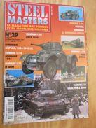 """WW2013-2  REVUE De Maquettes Plastiques """"STEEL MASTERS"""" N°29 De 1998  , Valait 39 FF En Kiosque , Le Sommaire De Ce Numé - Magazines"""