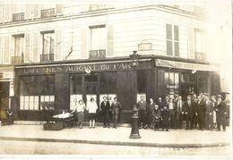 75  PARIS  14 IEME  RESTAURANT  DU PARC  AVENUE  DU  PARC  DE MONTSOURIS   PHOTO - Pubs, Hotels, Restaurants