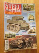 """REVDIV14-1  REVUE De Maquettes Plastiques """"STEEL MASTERS"""" N°25  De 1998  , Valait 39 FF En Kiosque , Le Sommaire De Ce N - Magazines"""
