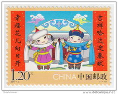 CHINA VR 2017-2 ** New Year Neujahr Nouvel An - OFFICIAL ISSUE - DHCHN - 1949 - ... Volksrepublik