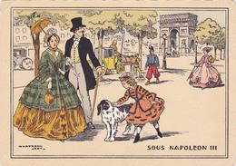 Cpa-ill-J.Chaperon--sous Napoleon III-arc De Triomphe  Et Champs Elysées - Chaperon, Jean
