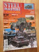 """REVDIV14-1  REVUE De Maquettes Plastiques """"STEEL MASTERS"""" N°28  De 1998  , Valait 39 FF En Kiosque , Le Sommaire De Ce N - Magazines"""