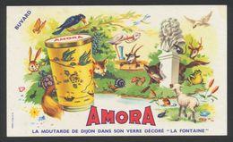 Buvard - Moutarde AMORA - Moutardes