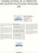 France-1993-notice-LILLE (n°23) - Documents De La Poste