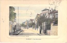 92 - CLAMART : Rue Gambetta  - Jolie CPA Colorisée -  Hauts De Seine - Clamart