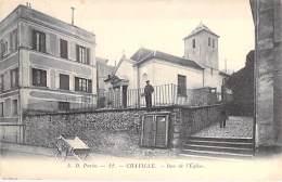 92 - CHAVILLE : Rue De L'Eglise - CPA -  Hauts De Seine - Chaville