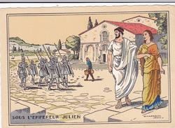 Cpa-ill-J.Chaperon--sous L'empereur Julien /sotto L'imperatore Giuliano -palais Des Thermes - Chaperon, Jean