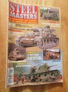 """REVDIV14-1  REVUE De Maquettes Plastiques """"STEEL MASTERS"""" N°5  De 1994  , Valait 39 FF En Kiosque , Le Sommaire De Ce Nu - Magazines"""
