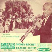 """SIDNEY BECHET """"LES OIGNONS/LE MARCHAND DE POISSONS / CE MOSSIEU QUI PARLE/BECHET CREOLE BLUES"""" 45 Tours Disque Vinyl - Jazz"""