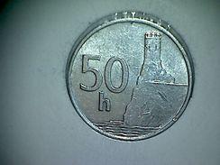 Slovaquie 50 Halierov 1993 - Slovaquie