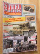 """REVDIV14-1  REVUE De Maquettes Plastiques """"STEEL MASTERS"""" N°8  De 1995  , Valait 39 FF En Kiosque , Le Sommaire De Ce Nu - Magazines"""