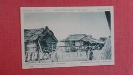 PHILIPPINES -  Fisherman's Huts - Zamboanga   Ref 2648 - Philippines