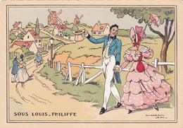 Cpa-ill-J.Chaperon--sous Louis Philippe -moulin De La Galette - Chaperon, Jean