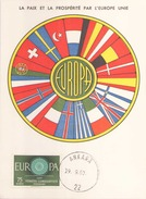 Turquie Carte Maximum Le 19 Septembre 1960 à Ankara - Turchia