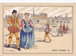 Cpa-ill-J.Chaperon--sous Henri IV-le Pont Neuf - Chaperon, Jean