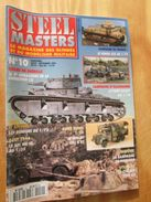 """REVDIV14-1  REVUE De Maquettes Plastiques """"STEEL MASTERS"""" N°10  De 1995  , Valait 39 FF En Kiosque , Le Sommaire De Ce N - Magazines"""
