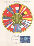 Turquie Carte Maximum Le 19 Septembre 1960 à Ankara - Altri