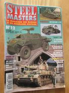 """REVDIV14-1  REVUE De Maquettes Plastiques """"STEEL MASTERS"""" N°12  De 1995  , Valait 39 FF En Kiosque , Le Sommaire De Ce N - Magazines"""
