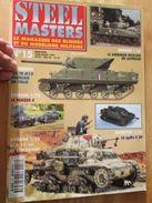 """REVDIV14-1  REVUE De Maquettes Plastiques """"STEEL MASTERS"""" N°15  De 1996  , Valait 39 FF En Kiosque , Le Sommaire De Ce N - Magazines"""