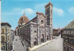 FIRENZE DUOMO 1963 TARGHETTA POSTALE - Firenze
