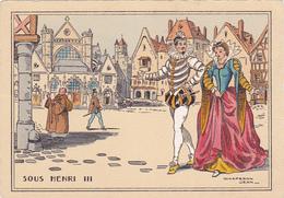 Cpa-ill-J.Chaperon--sous Henri III-eglise St Germain L'auxerrois - Chaperon, Jean