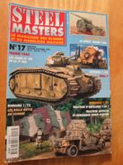 """REVDIV14-1  REVUE De Maquettes Plastiques """"STEEL MASTERS"""" N°17  De 1996  , Valait 39 FF En Kiosque , Le Sommaire De Ce N - Magazines"""