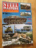 """REVDIV14-1  REVUE De Maquettes Plastiques """"STEEL MASTERS"""" N°20  De 1997  , Valait 39 FF En Kiosque , Le Sommaire De Ce N - Magazines"""