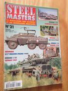 """REVDIV14-1  REVUE De Maquettes Plastiques """"STEEL MASTERS"""" N°21  De 1997  , Valait 39 FF En Kiosque , Le Sommaire De Ce N - Magazines"""