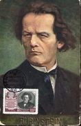 23944 Russia, Maximum Music Composer Pianist  Arthur Rubinstein, Vintage Card - Muziek