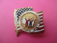 Insigne  De Sport/Gymnastique/20éme Championnat Du Monde De Gymnastique Artistique/Fort Worth/Texas/USA/1979      SPO171 - Gymnastics