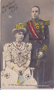 Cpa-div-esp-SS.MM.don Alfonso Y Dona Victoria Reyes De Espana - Familles Royales