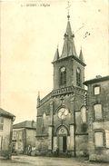 Cpa AUGNY 57 - L Eglise - - Autres Communes