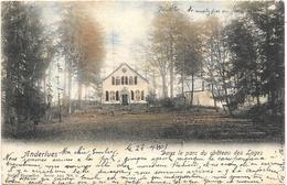 Anderlues NA3: Dans Le Parc Du Château Des Loges 1903 - Anderlues