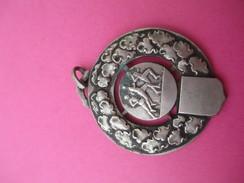 Médaille De Sport/ Course à Pied/ Bronze Nickelé/ Vers 1930 - 1950             SPO178 - Athlétisme