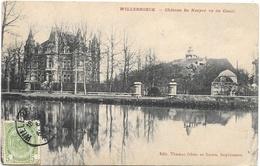 Willebroeck NA5: Château De Naeyer Vu Du Canal 1911 - Willebroek