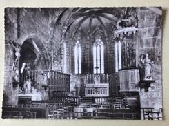 """15 - CPSM - """" ST-MARTIN-VALMEROUX (Cantal). Alt. 600m - 22 - L'intérieur De L'Église """" - Écrite Au Dos - Andere Gemeenten"""