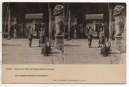 """Carte Stéréo """" CHINE - Prétoire Du Préfet De Tchong King ( Se Tchuen ) - Chine"""