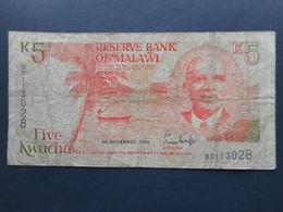 Malawi 5 Kwacha 1990 - Malawi