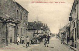 CPA - Les THILLIERS-en-VEXIN (27) - Aspect De La Route De Rouen Dans Les Années 20 - France