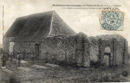 28 SAINT-CHERON-des-CHAMPS (108 Hab.) Par NOGENT Le ROI - L'Eglise (antérieure à La Guerre De 100 Ans) - Francia