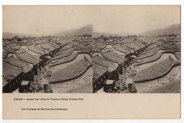 "Carte Stéréo "" CHINE - Aspect Des Villes Du Yunnan ( Tong Tchuan Fou ) "" - Chine"