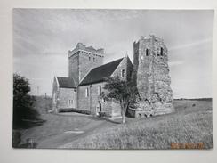 Postcard Dover Castle Kent Roman Lighthouse And Saxon Church Of St Mary De Castro RP My Ref B21667 - Dover