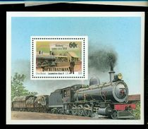 BOPHUTHATSWANA ( S. AFRICA ) 294 A   MINT NEVER HINGED  STAMPS TRAINS = LOCOMOTIVES - Trains