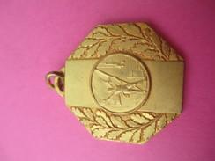 Médaille De Sport/ Gymnastique  /Athléte/ Agrés/ Bronze Doré/ UM  MACON/ / Vers 1930 - 1950             SPO183 - Gymnastics