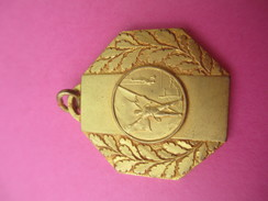 Médaille De Sport/ Gymnastique  /Athléte/ Agrés/ Bronze Doré/ UM  MACON/ / Vers 1930 - 1950             SPO183 - Gymnastik