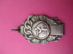 Médaille De Sport/ Tir à La Carabine/Tireur à Genoux/ Bronze Nickelé/PONTOISE/ / 1959           SPO185 - Deportes