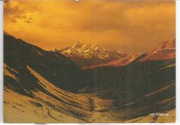 Mont Everest, Versant Nord Du Tibet, Carte Postale Adressée ANDORRA, Avec Timbre à Date Arrivée - Alpinisme