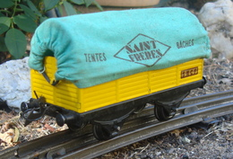 Wagon Train Hornby Bâché - Wagons Marchandises