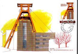 ALAND  Carte Maxi 2010 Essen Mine - Sciences